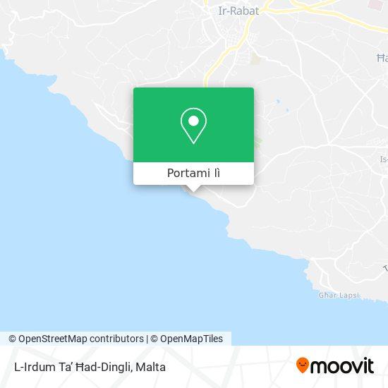 Mappa Dingli Cliffs