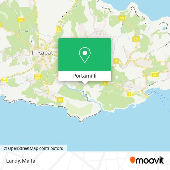 Mappa Landy