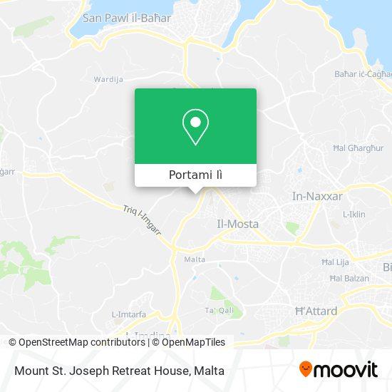 Mappa Mount St. Joseph Retreat House