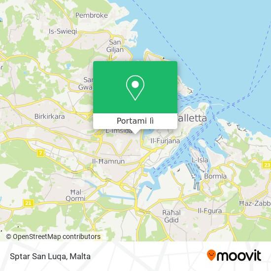Mappa Sptar San Luqa
