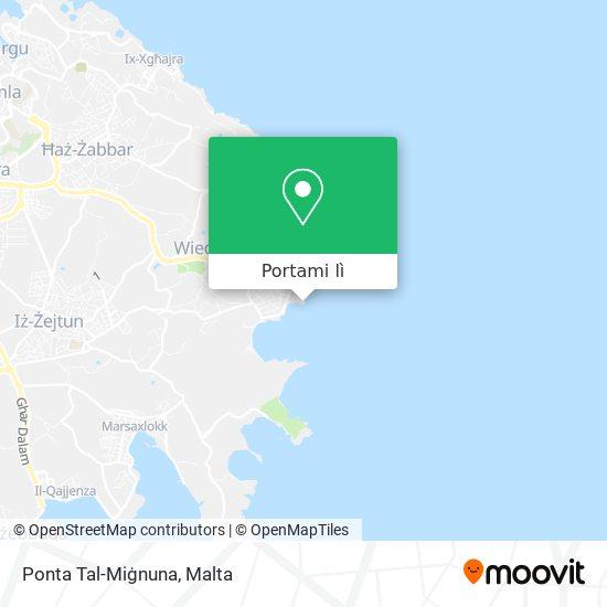 Mappa Ponta Tal-Miġnuna
