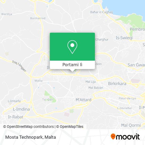 Mappa Mosta Technopark