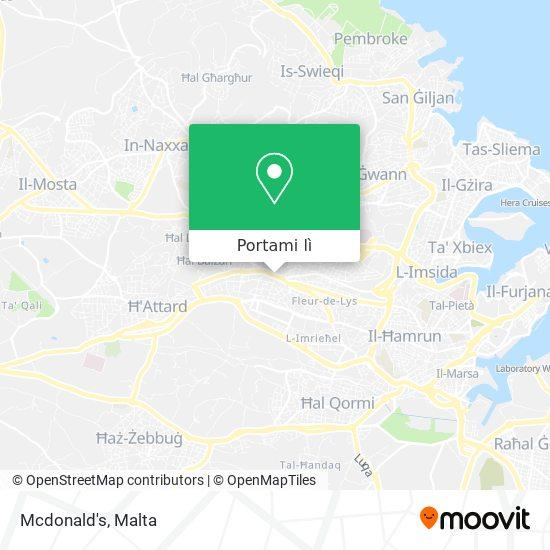 Mappa Mcdonald's
