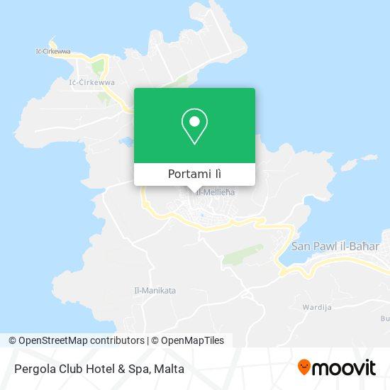 Mappa Pergola Club Hotel & Spa