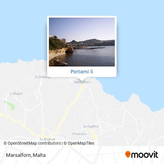 Mappa Marsalforn