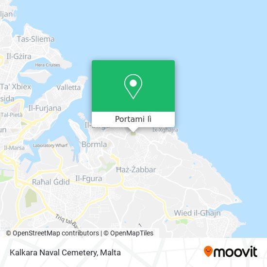 Mappa Kalkara Naval Cemetery