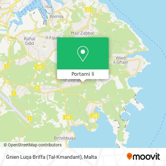 Mappa Ġnien Luqa Briffa (Tal-Kmandant)