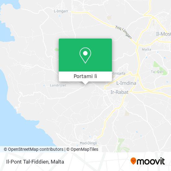 Mappa Il-Pont Tal-Fiddien
