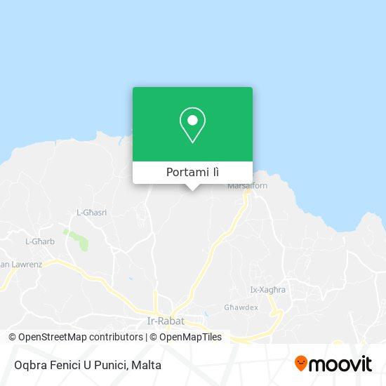 Mappa Oqbra Fenici U Punici