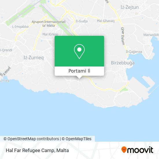 Mappa Hal Far Refugee Camp