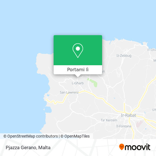 Mappa Pjazza Gerano