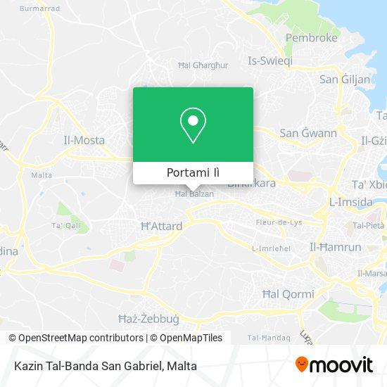 Mappa Kazin Tal-Banda San Gabriel