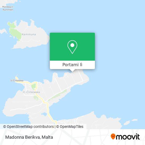 Mappa Madonna Berikva