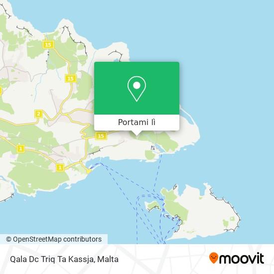 Mappa Qala Dc Triq Ta Kassja