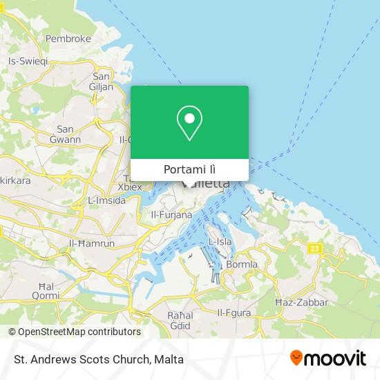 Mappa St. Andrews Scots Church
