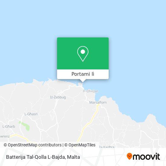 Mappa Qolla L-Bajda Battery