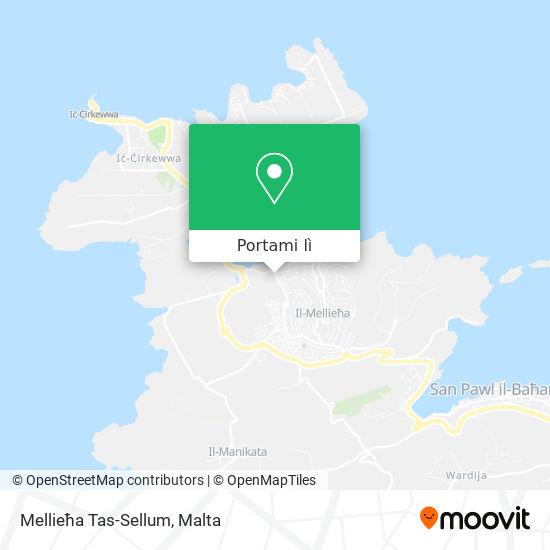 Mappa Mellieħa Tas-Sellum