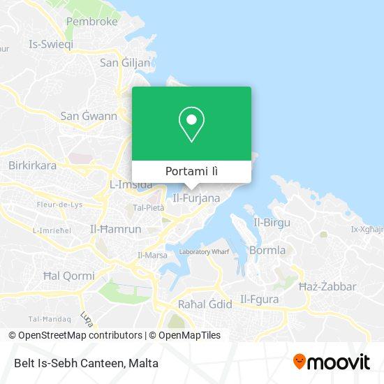 Mappa Belt Is-Sebh Canteen