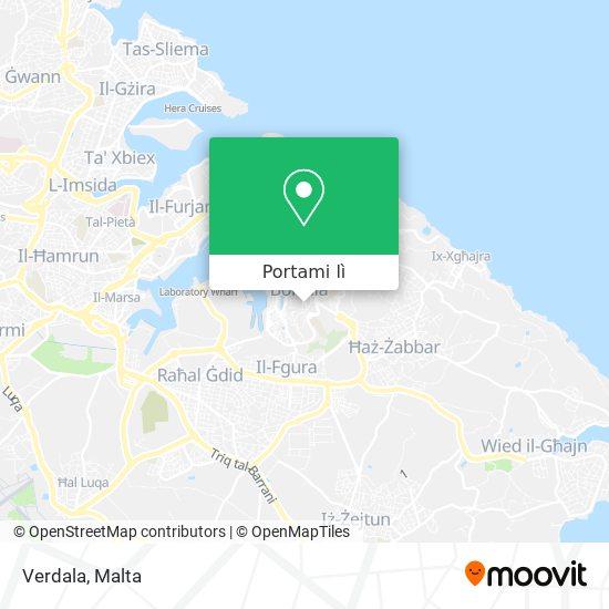 Mappa Verdala
