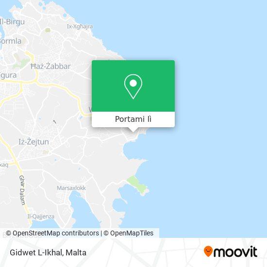 Mappa Gidwet L-Ikhal