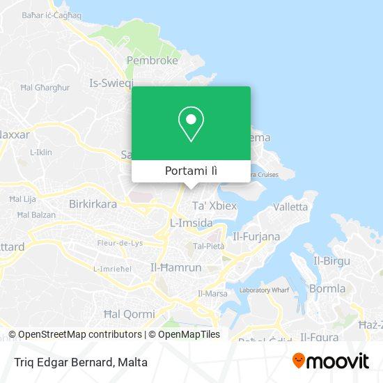 Mappa Triq Edgar Bernard