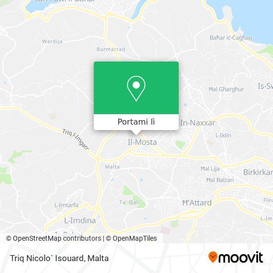 Mappa Triq Nicolo` Isouard