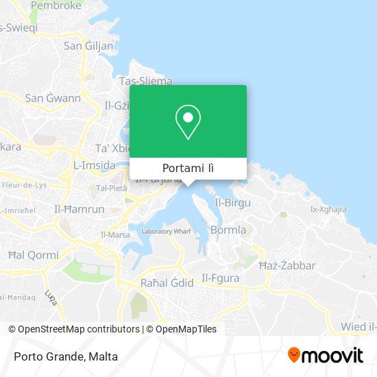 Mappa Porto Grande