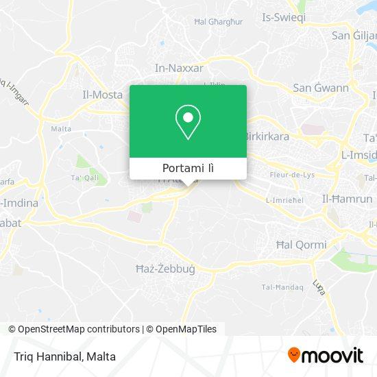 Mappa Triq Hannibal