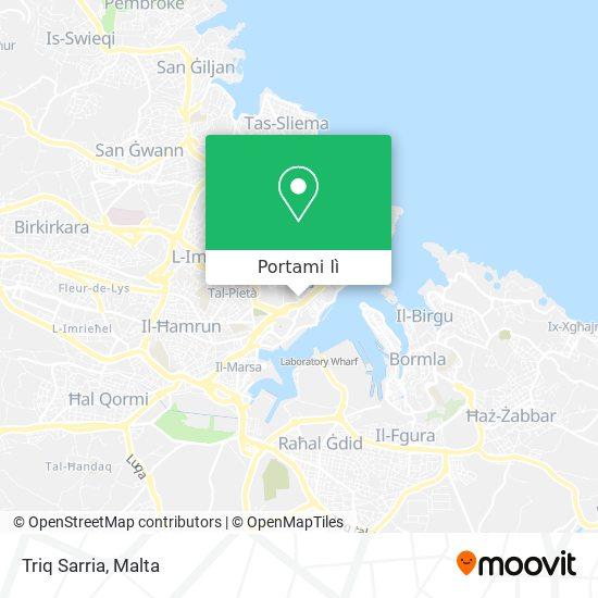 Mappa Triq Sarria