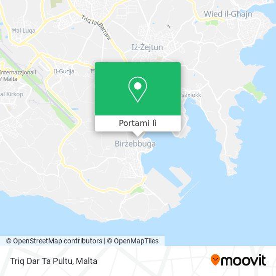 Mappa Triq Dar Ta Pultu