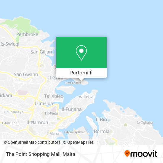 Mappa The Point Shopping Mall