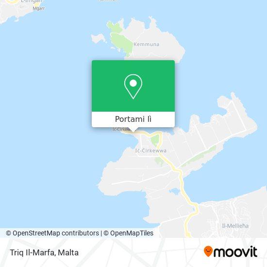 Mappa Triq Il-Marfa