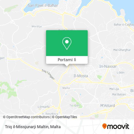 Mappa Triq il-Missjunarji Maltin