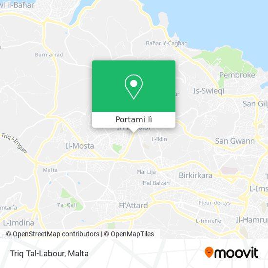 Mappa Triq Tal-Labour