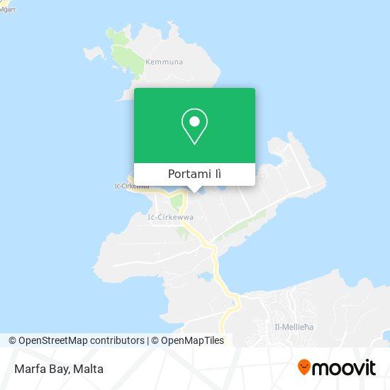 Mappa Marfa Bay
