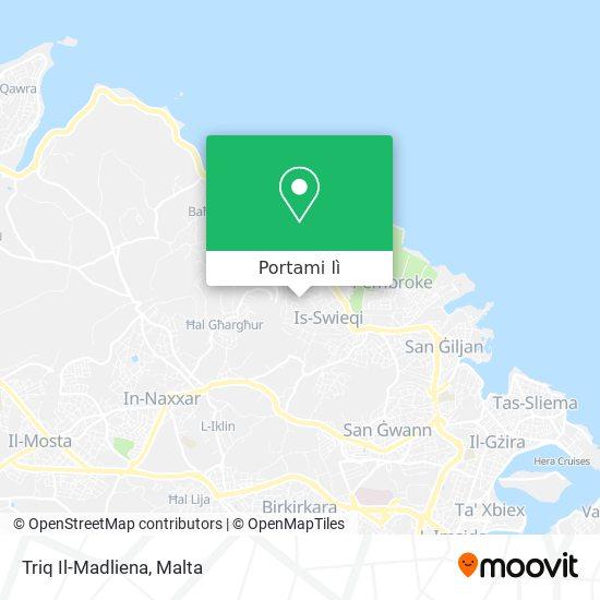 Mappa Triq Il-Madliena