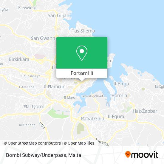 Mappa Bombi Subway/Underpass