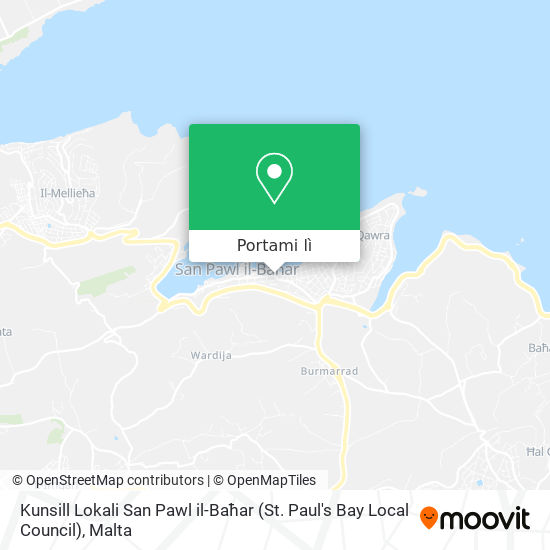Mappa Kunsill Lokali San Pawl il-Baħar (St. Paul's Bay Local Council)