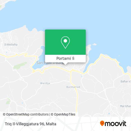 Mappa Triq Il-Villeggjatura 96