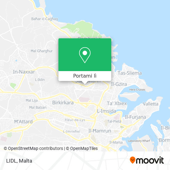 Mappa LIDL