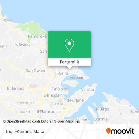 Mappa Triq il-Karmnu