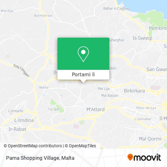 Mappa Pama Shopping Village