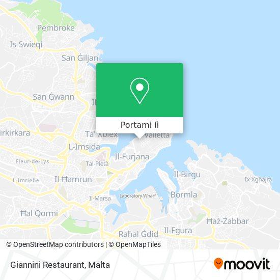 Mappa Giannini Restaurant