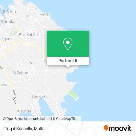 Mappa Triq il-Kannella