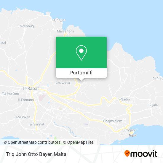 Mappa Triq John Otto Bayer