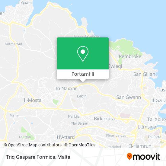 Mappa Triq Gaspare Formica
