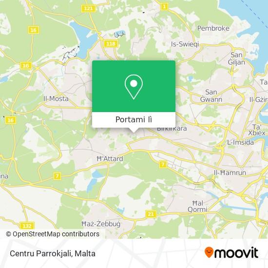 Mappa Centru Parrokjali