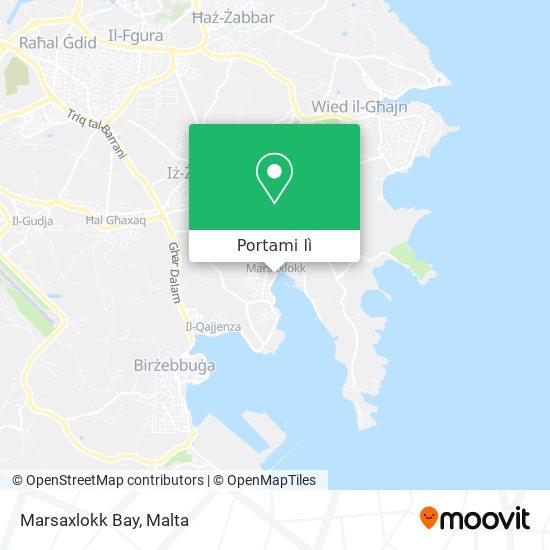Mappa Marsaxlokk Bay