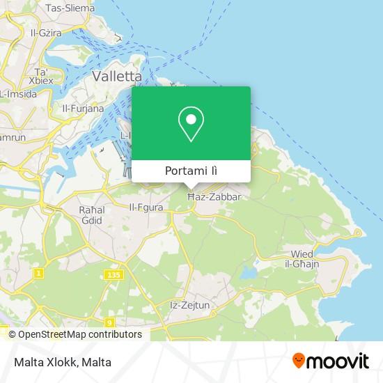 Mappa Malta Xlokk
