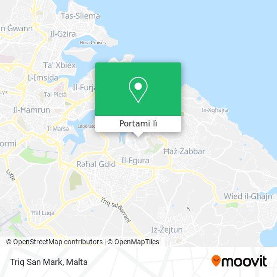 Mappa Triq San Mark